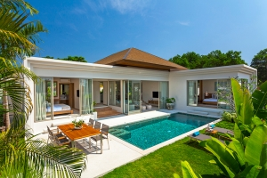 Modern Contemporary Balinese Style Pool Villa