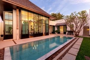 Balinese and Chinese Contemporary Style Pool Villa