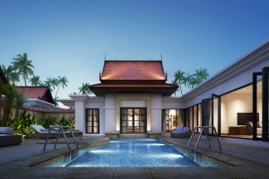 Banyan Tree Residences, Luxury Resort Residences 3 Bedrooms Pool Villa